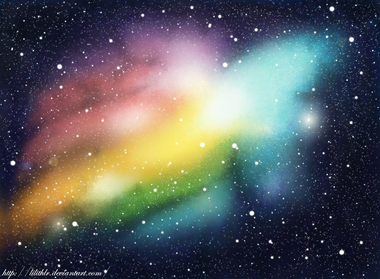 Fondo De Galaxia Para Un Dibujo Background Northern Lights Natural Landmarks