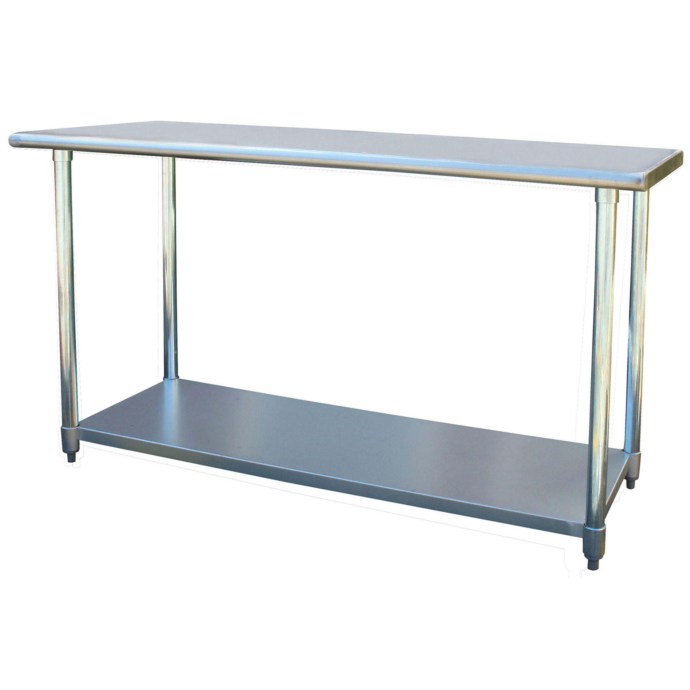 Sportsman Series Stainless Steel Work Table 24 X 60 Pleasing 60 Inch Kitchen Island Design Decoration