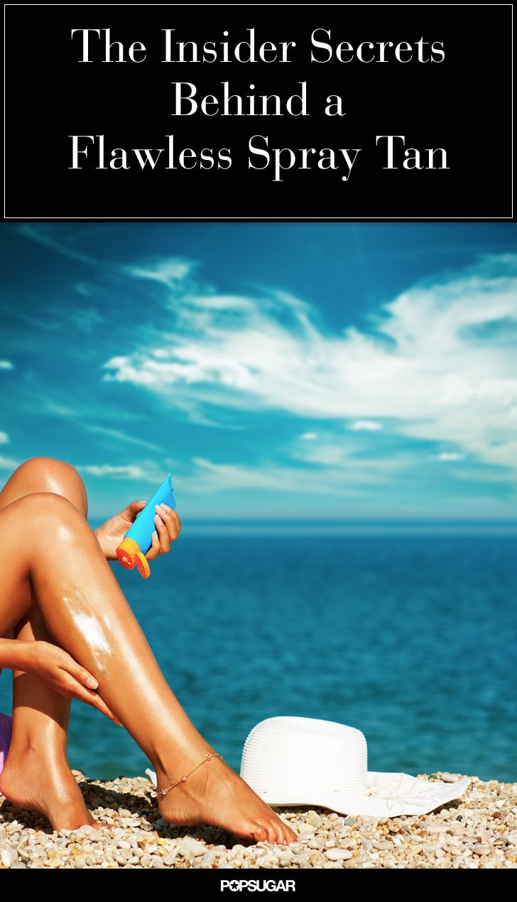 Addicted to Spray Tans? You Need to Read This ASAP! Wear