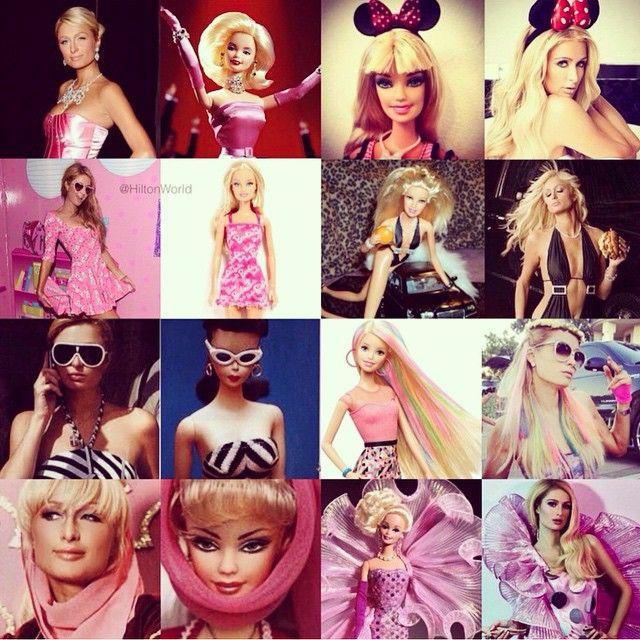 Girl in a Barbie World.