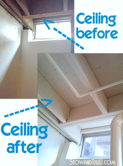 Tips For Painting An Exposed Basement Ceiling Diy Home Decor Exposed Basement Ceiling