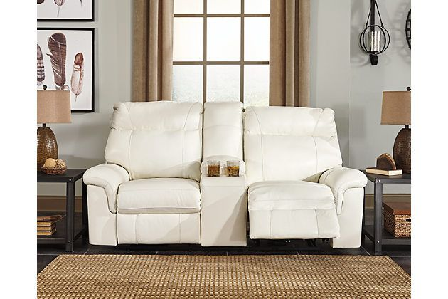 Fabulous Whiteville Power Reclining Loveseat With Console Living Cjindustries Chair Design For Home Cjindustriesco