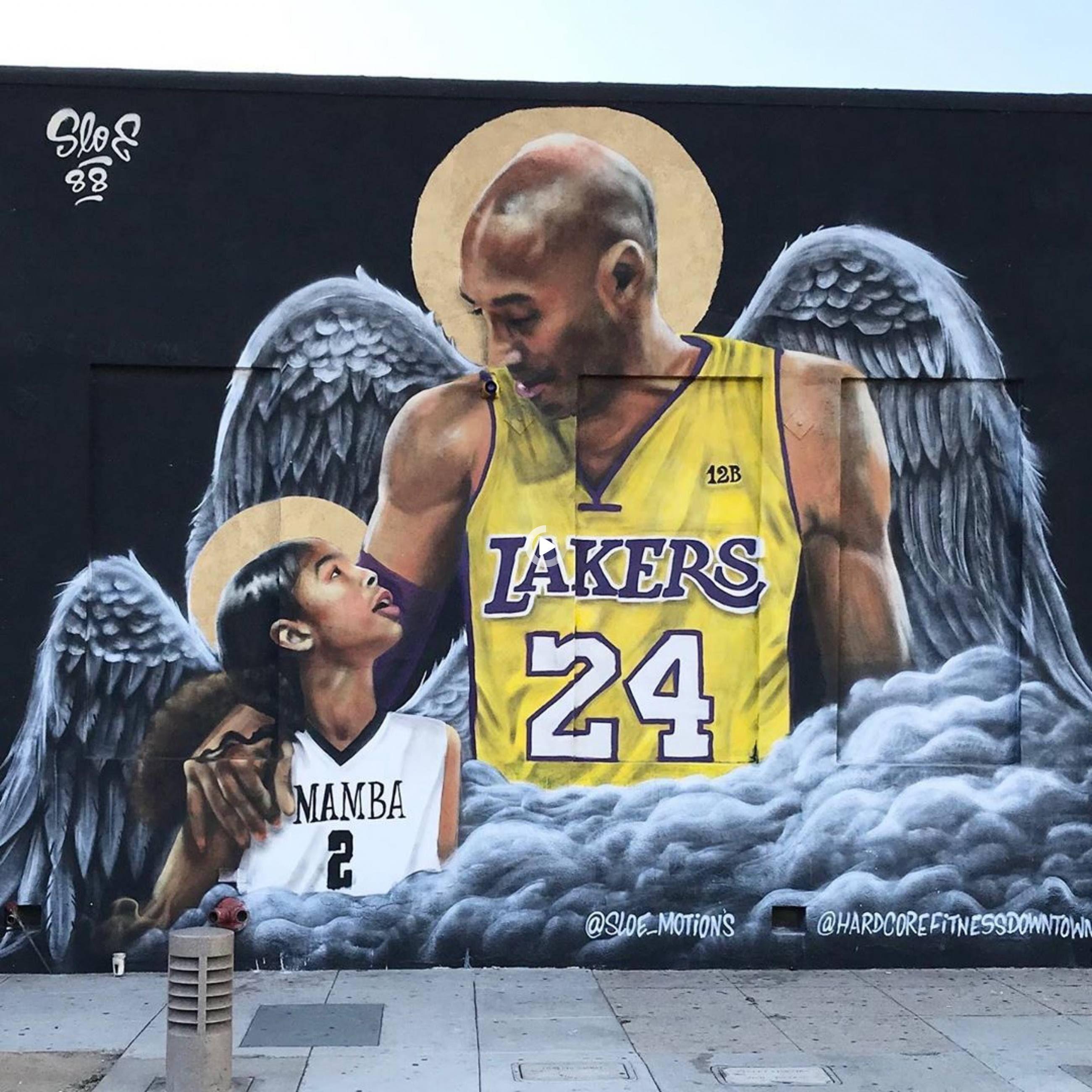Discover kobe bryant murals in los angeles in 2021 kobe