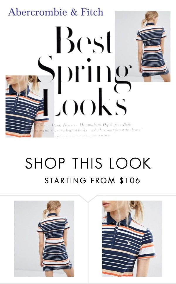 """""""Abercrombie & Fitch"""" by koyabtsgot ❤ liked on Polyvore featuring Abercrombie & Fitch and H&M"""
