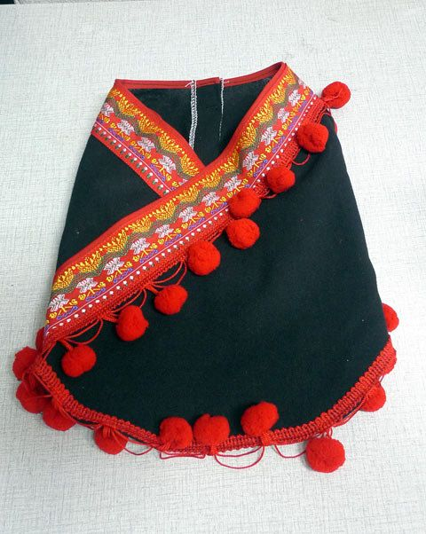 ethnic minority costume from Thailand