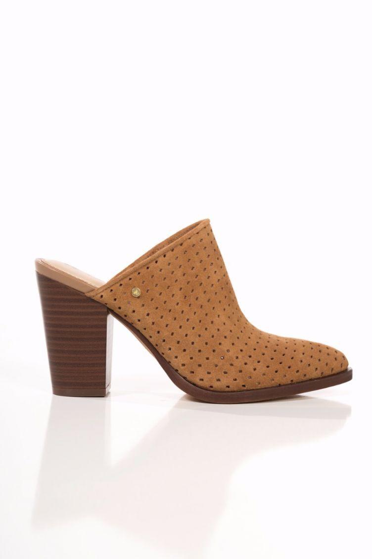77f5f407a4 Bates Mule/ Golden Camel | Women's Footwear | Heeled mules, Camel, Shoes
