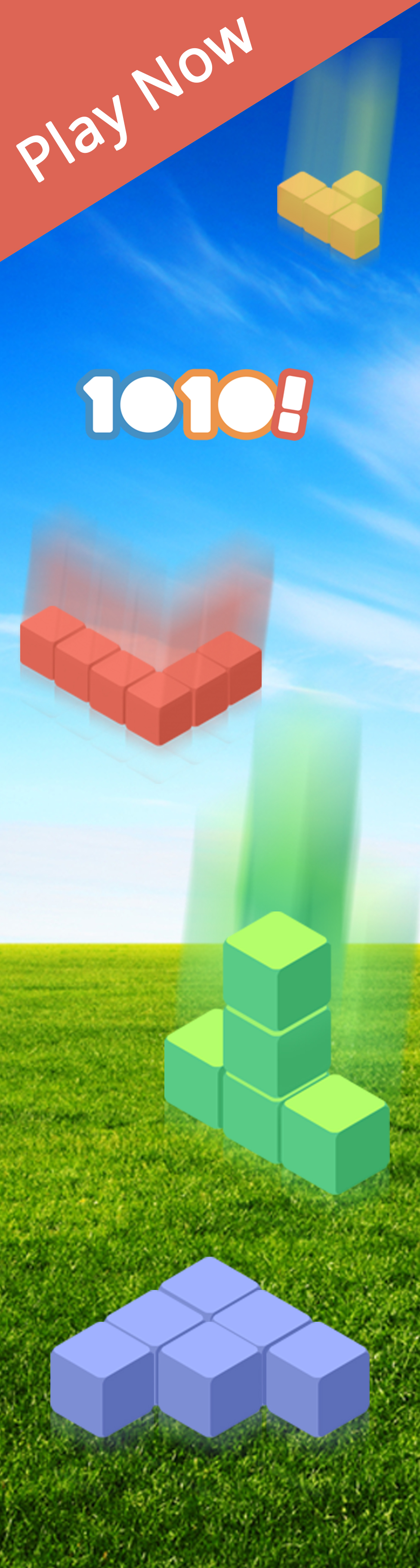 Play 1010!, the perfect mobile puzzle game!!!