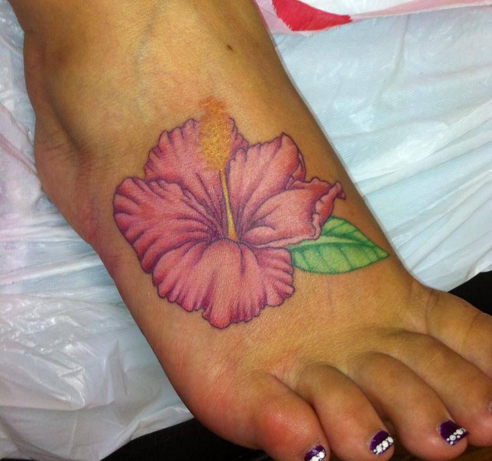 Flower Foot Tattoo Christines Gallery Pinterest Flower Foot