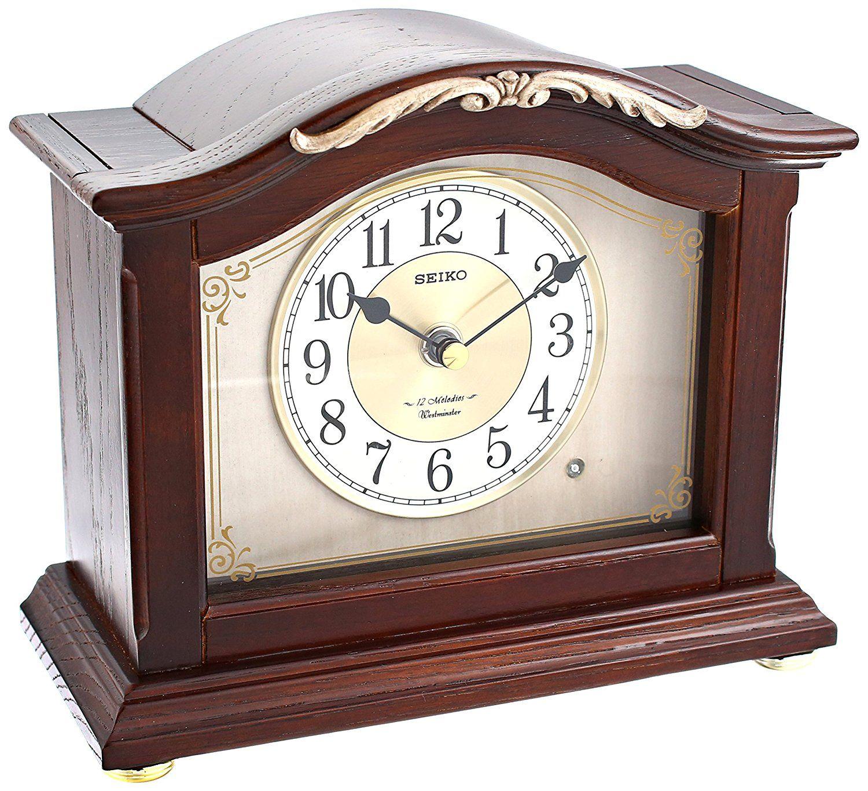 Seiko Anese Quartz Shelf Clock Final Call For This Special Home Decor Clocks