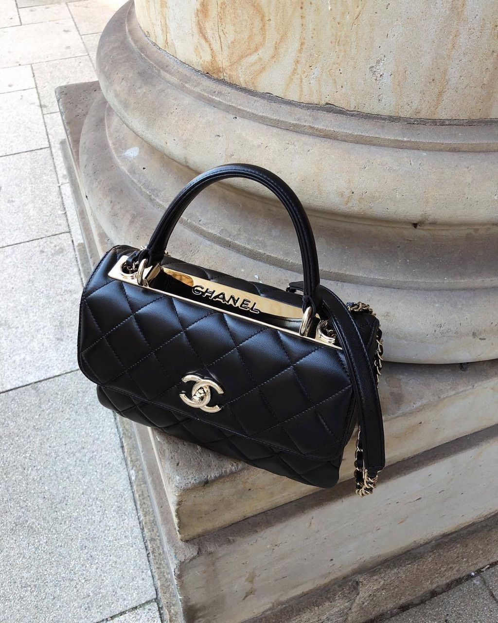 Chanel Bag Accessories Style Chanel Bag And Fashion Getthelook In 2020 With Images Chanel Handbags Trendy Purses Chanel Bag