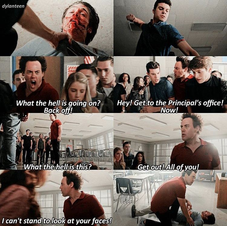 Teen Wolf 6x14 Coach saves Liam