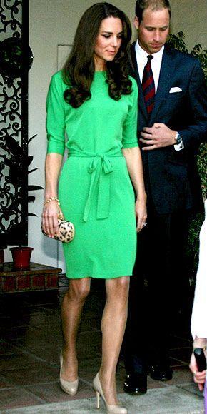 Kate Middleton wearing L.K.Bennett Sledge2 Shoe, Diane von ...