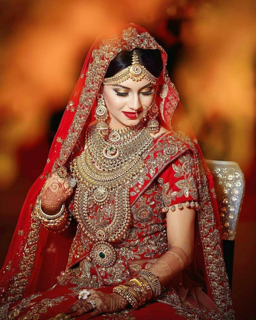 Pin by sofia neelum on .red Indian bridal photos, Indian