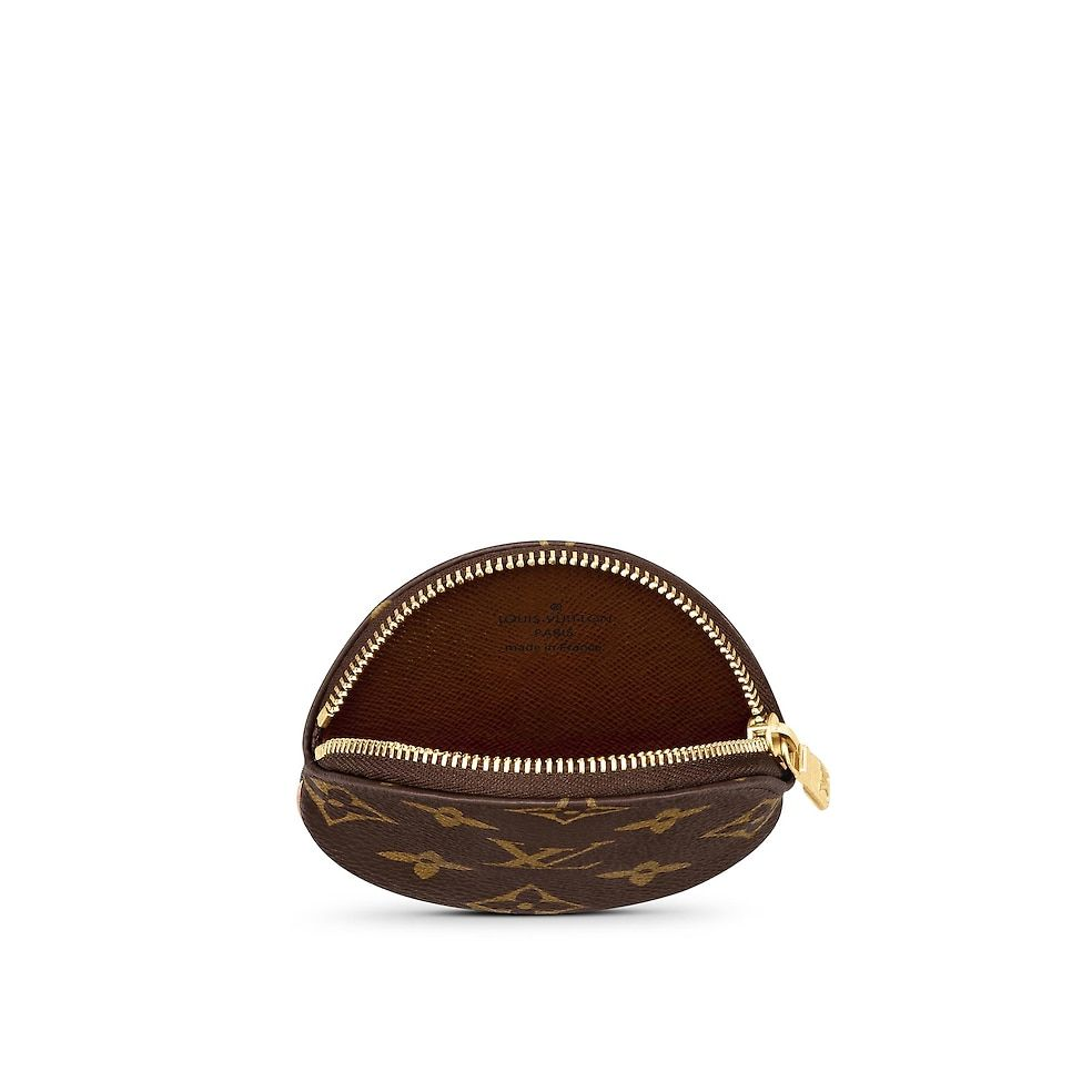 a5baa2630a4d View 2 - Women s Luxury Christmas Gift - Round Coin Purse Monogram Canvas Women  Small Leather Goods Wallets
