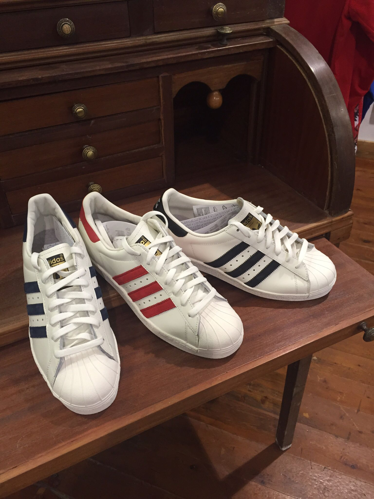 Unisex Adidas Superstar 80s Vintage Deluxe Vintage Collegiate Off Shoes Green White Lovely Payment