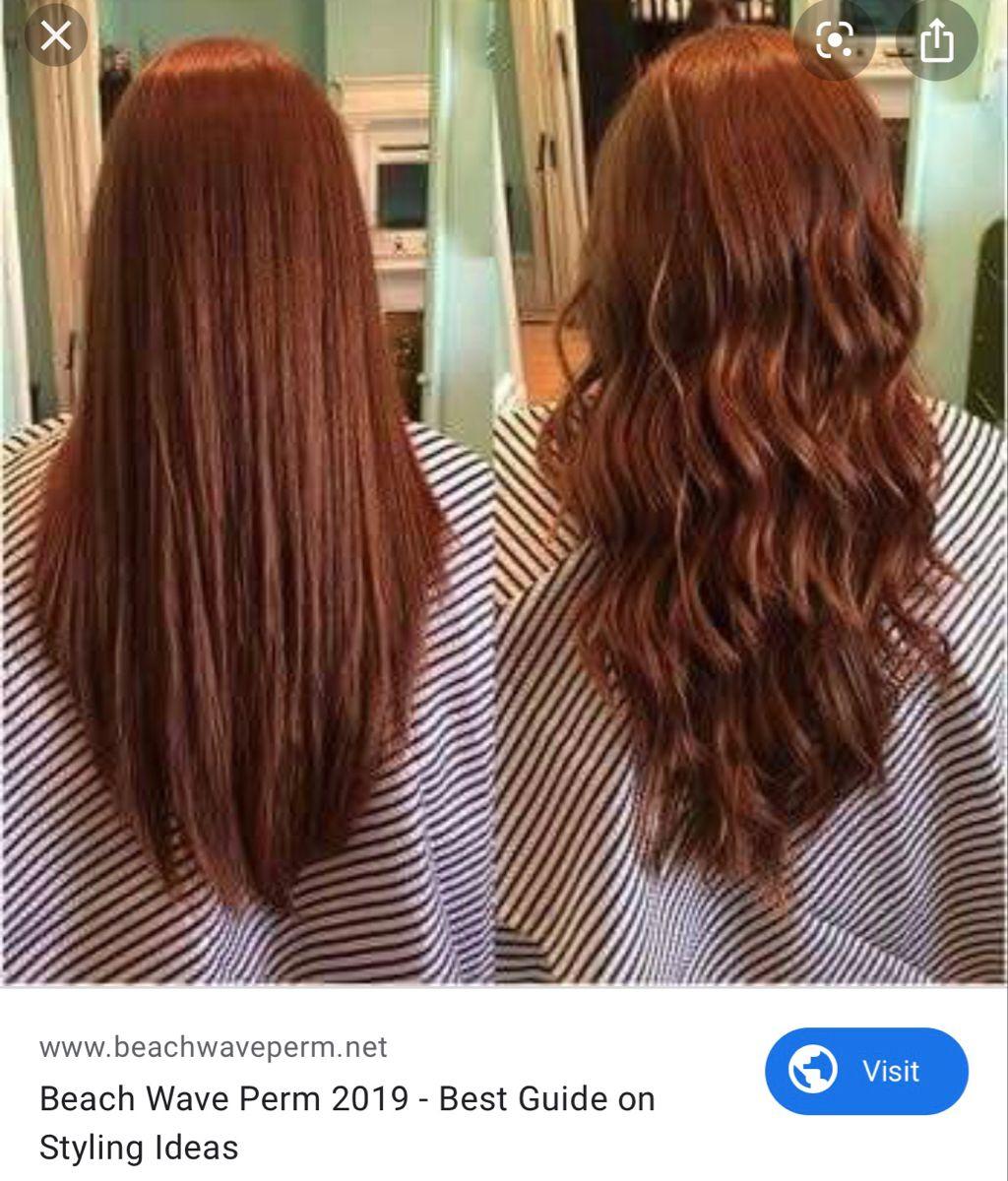 Pin By Megan Mcnally On Hair Long Hair Perm Permed Hairstyles Hair Waves