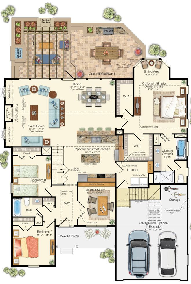 Empty Nester Cape Cod Cottage Design Cottage Floor Plans Cottage House Plans House Plans Farmhouse