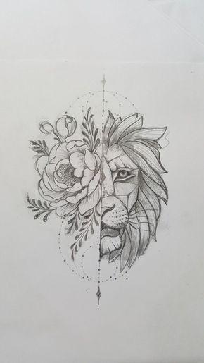 Leone stilizzato