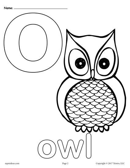 Letter O Alphabet Coloring Pages 3 Printable Versions Alphabet Coloring Pages Alphabet Coloring Coloring Letters