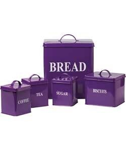 Superbe Colour Match Pittsburgh 5 Piece Storage Jars   Purple. | Review | Kaboodle