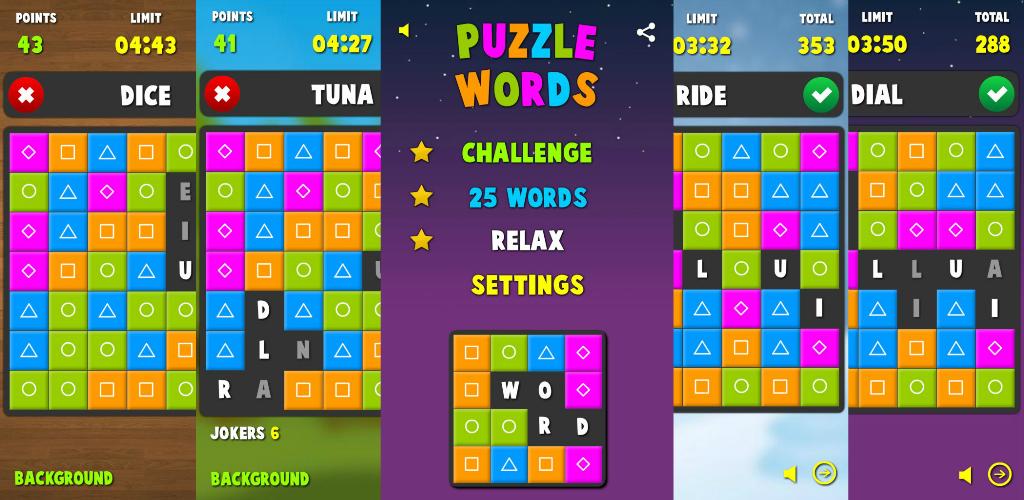 Puzzle Words PRO Puzzle, Words, PRO Words, Puzzle