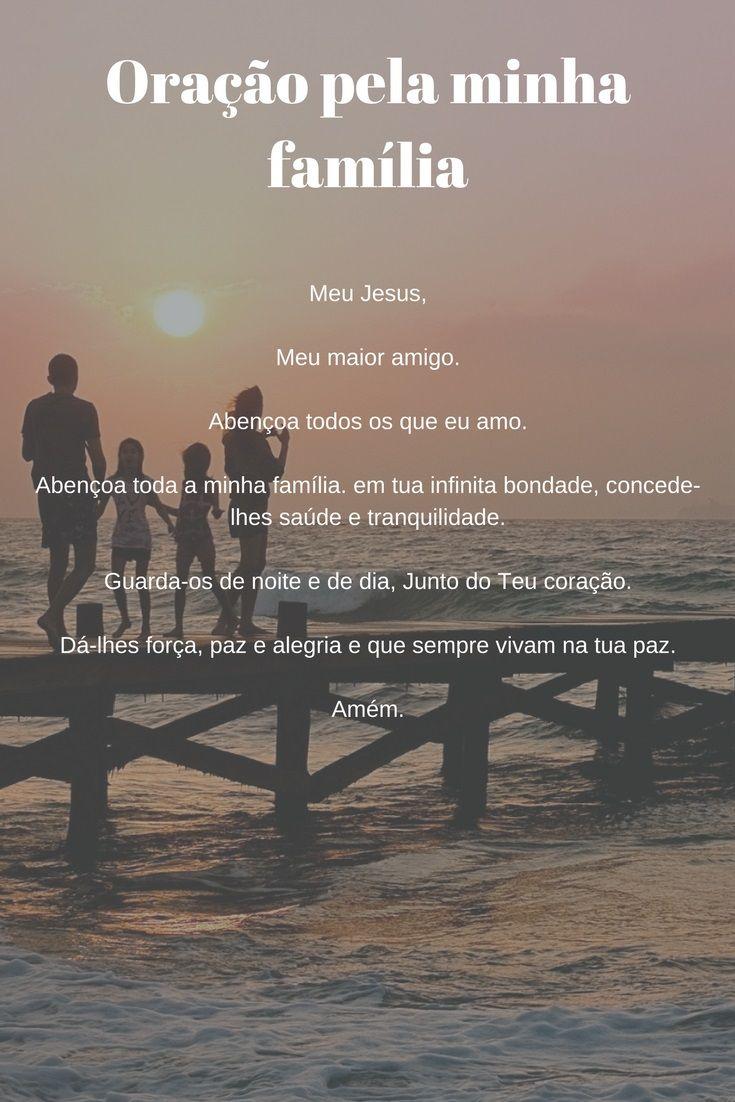 Cuide Da Sua Família Com Esta Oração Portugués Pinterest