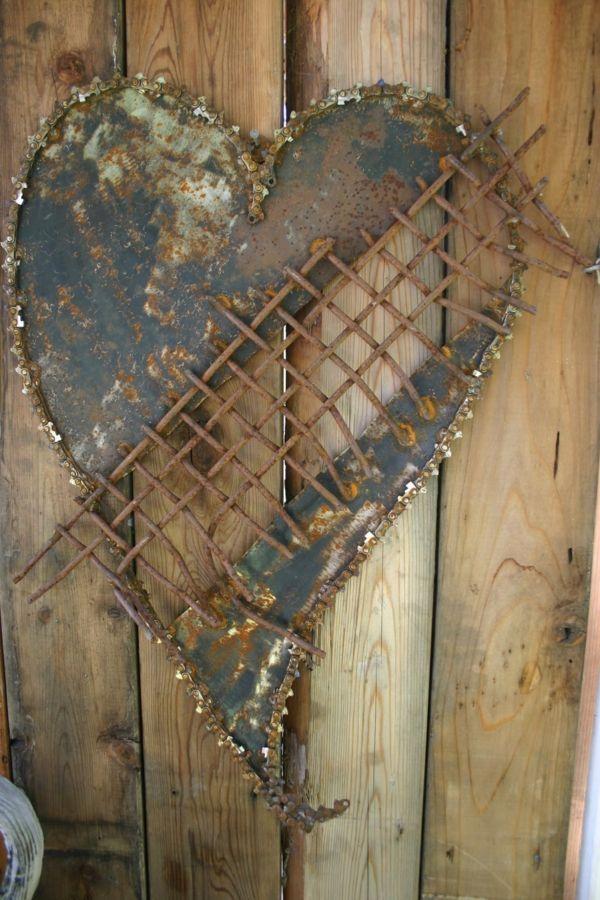 Bildergebnis f r rostige gartendeko selbstgemacht decor for Gartendeko selbstgemacht