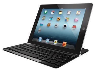 Logitech Ultrathin Keyboard Cover  Turning your iPad into a work generator, the slim keyboard lets you click-clack away at emails and acts as a cover to protect your device when closed.    Available at logitech.com, $100.