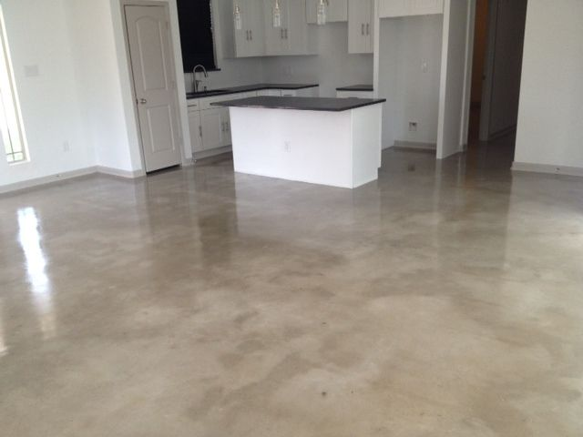 concrete floors - Google Search | Homes | Painted concrete floors
