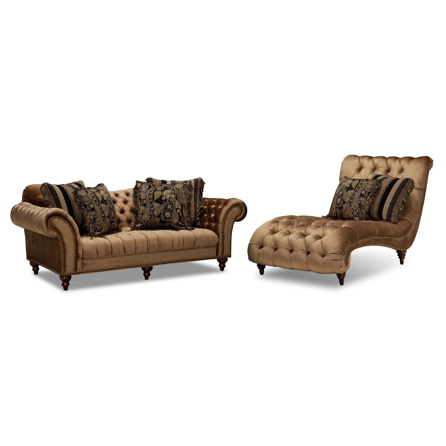 Best Brittney Sofa And Chaise Set In 2019 Furniture Value 640 x 480