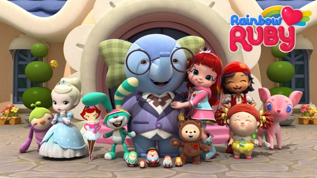 Rainbow Ruby - FamilyJr.ca | Rainbow, Best kid movies, Ruby