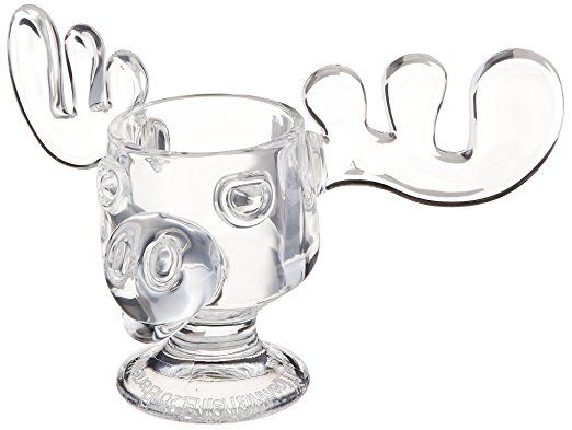 Officially Licensed National Lampoons Christmas Vacation Glass Moose Mug - Set of 2 #Christmas #ChristmasVacation