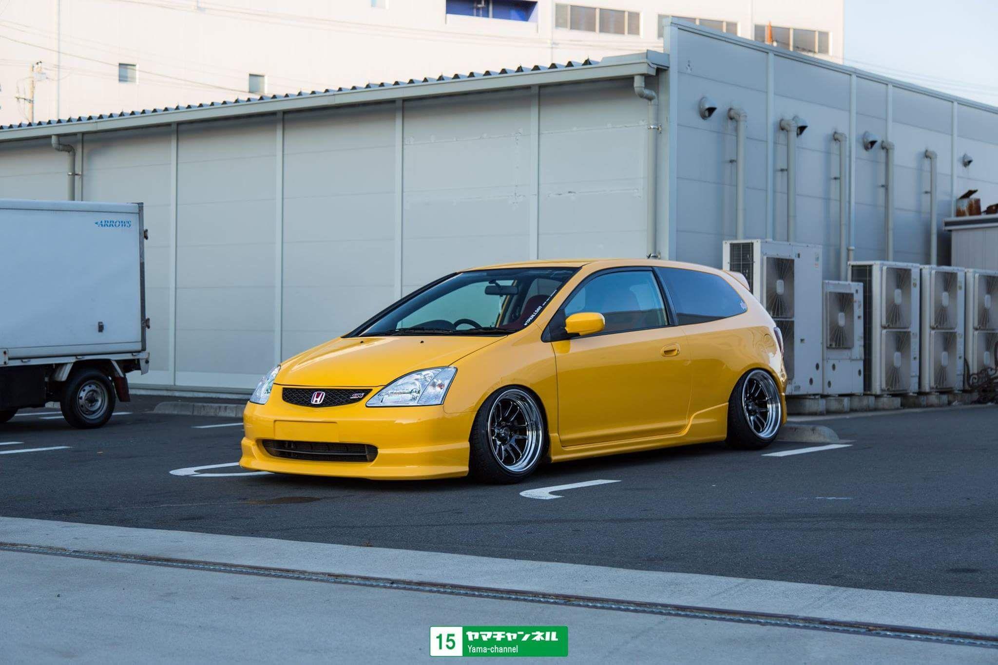 Slammed Honda Civic Type R Ep3 Honda Civic Type R Honda Civic Honda