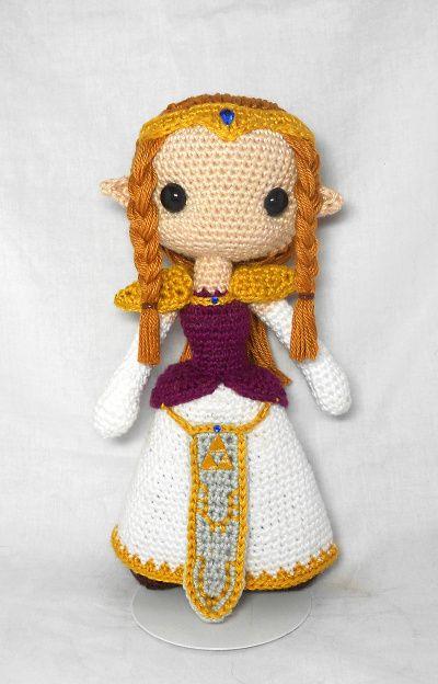 Doll modification: Zelda   Amigurumi Stuff   Pinterest