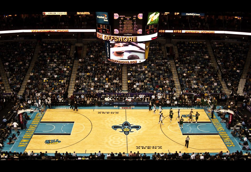 Showtime! — New Orleans, USA Smoothie king center, New