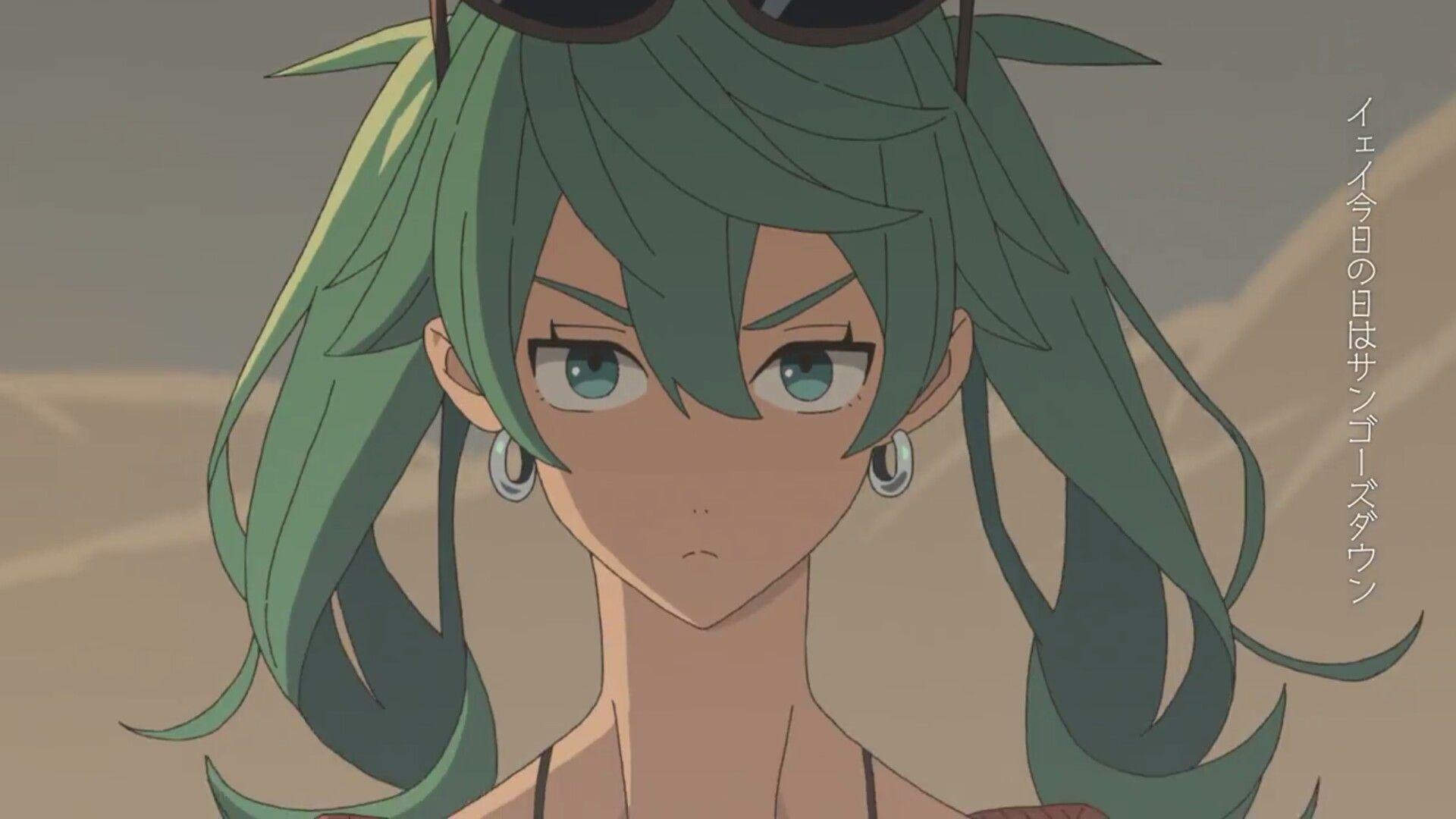 Hatsune miku sand hatsune miku miku anime
