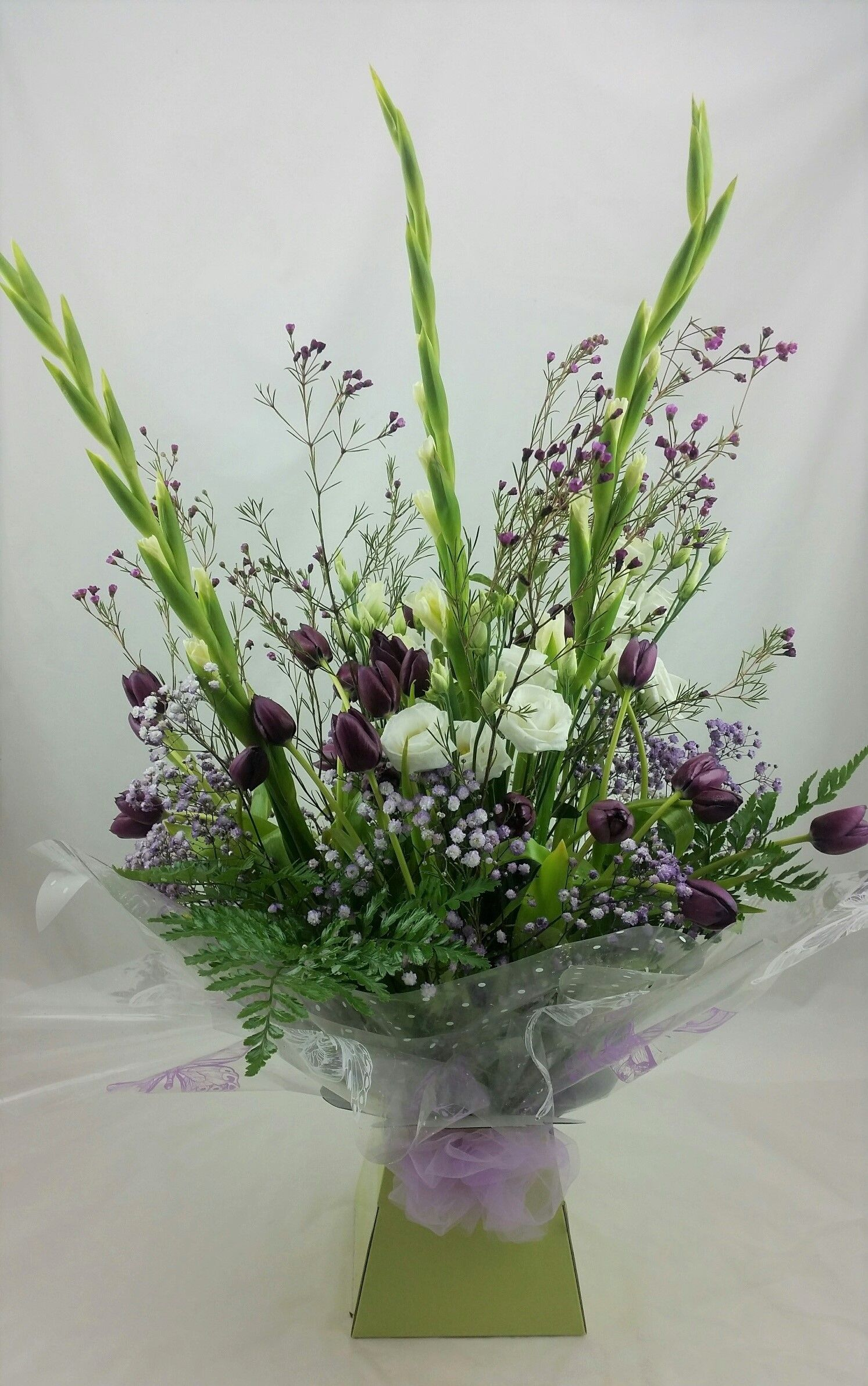 Check out this beautiful mixed bouquet that was sent to