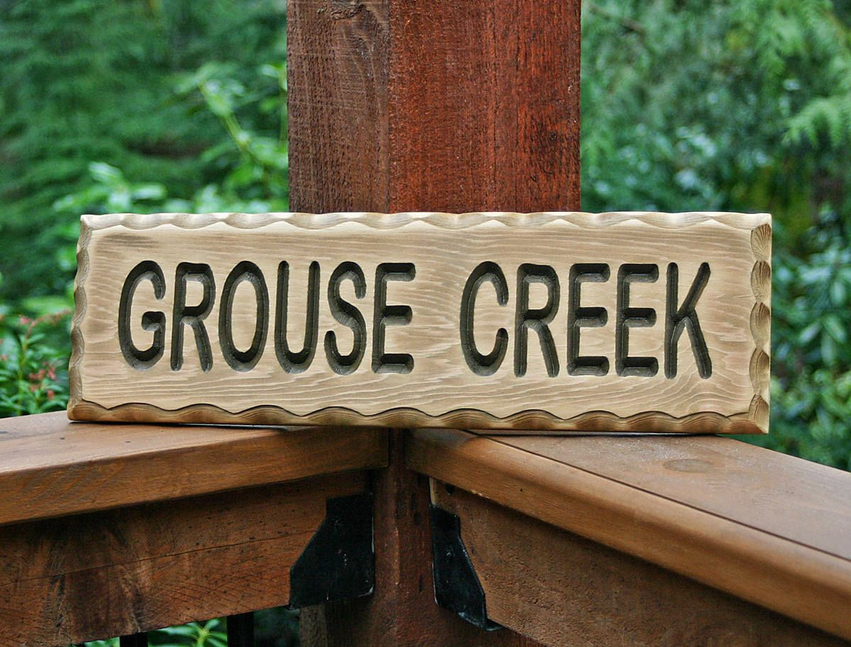 Custom Wood Signs, Personalized Sign, Wood Carved Sign, Garden Sign ...