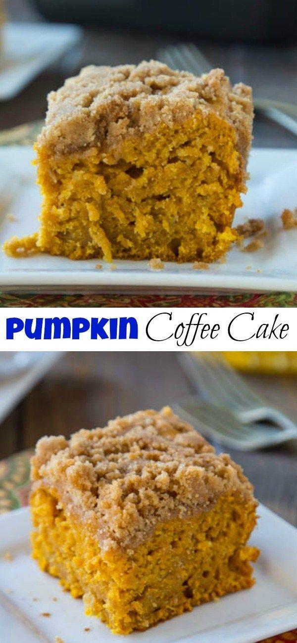 Apple Pumpkin Coffee Cake
