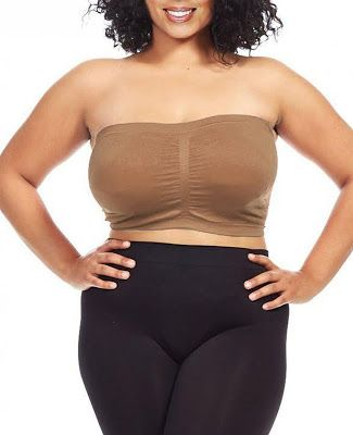 bc6c29b43be Plus Size Strapless Bra Dinamit Women s Plus Size Seamless Padded Bandeau  Tube Top Bra  5.99 -  11.99   FREE Returns on some sizes and colors.