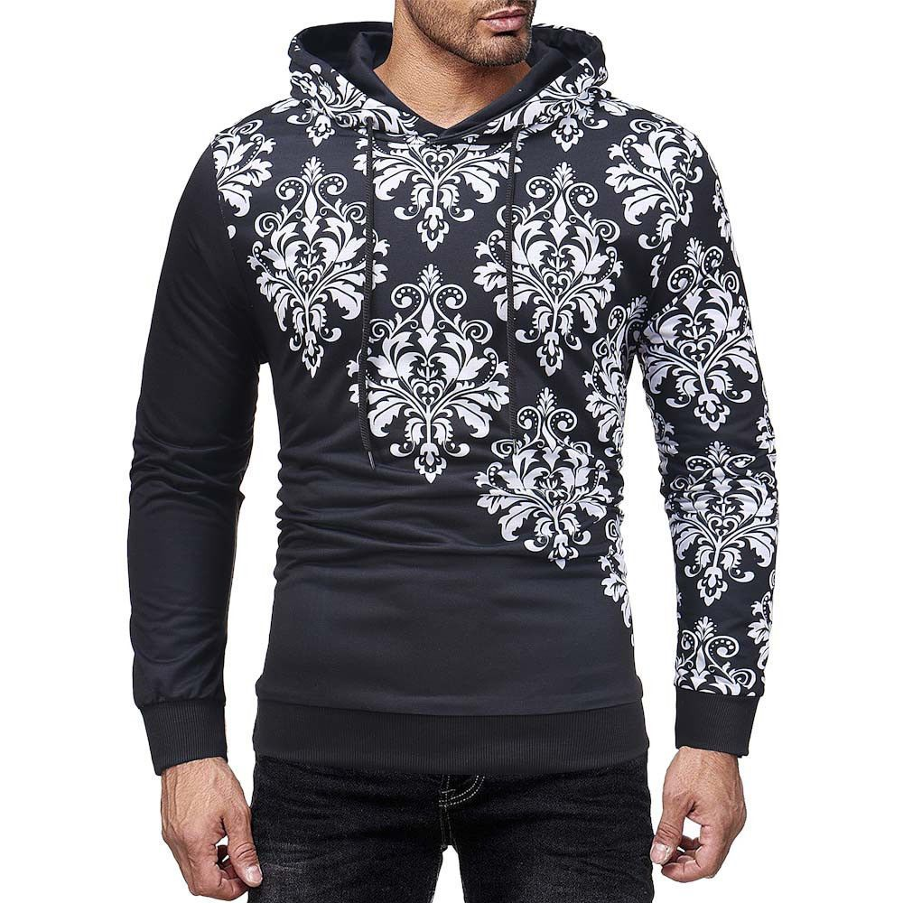 6d8f397de0b Men Casual Print Autumn Winter 3D Printing Long Sleeve Hoodies Sweatshirt  Blouse  fashion  clothing  shoes  accessories  mensclothing  activewear  ad  (ebay ...