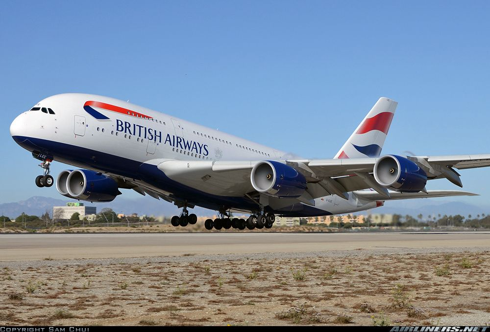 Airbus A380841 aircraft picture British airways