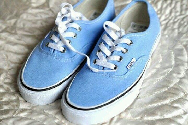 vans azul celeste