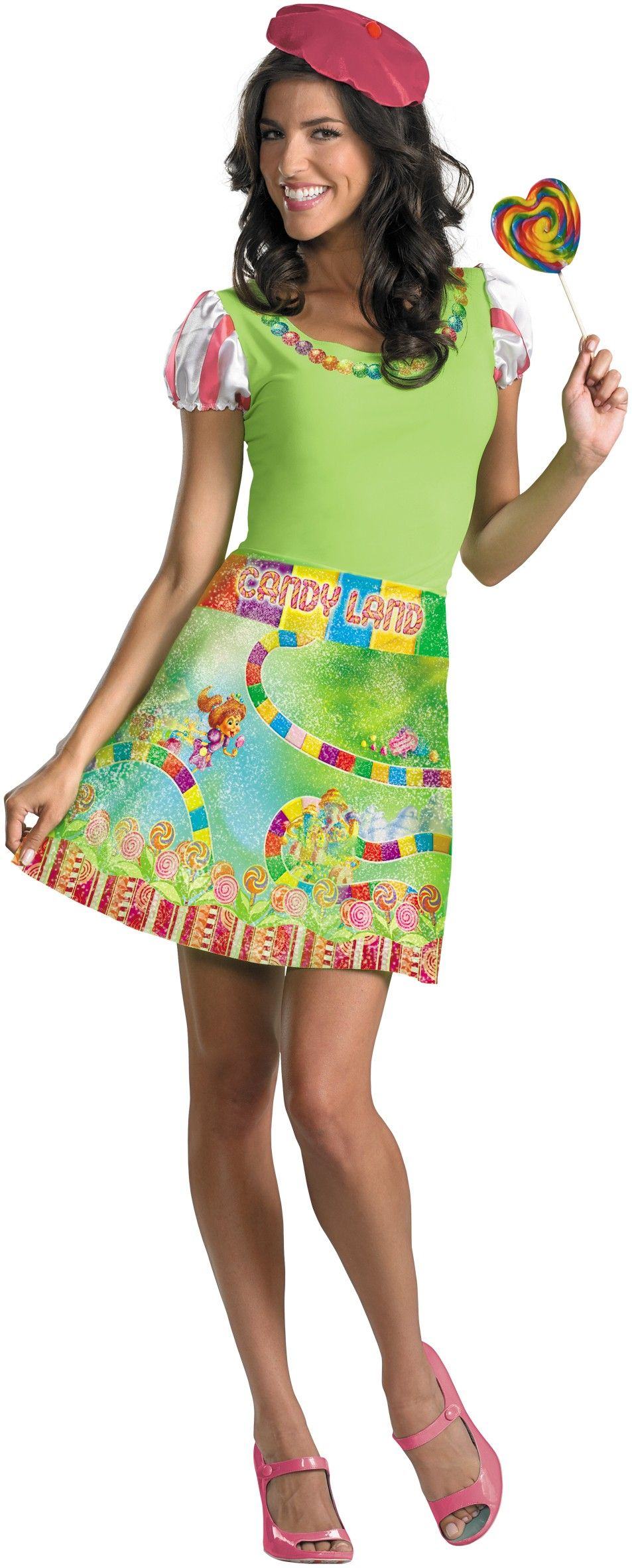 Candyland Ladies Adult Women's Costume Candy land costumes