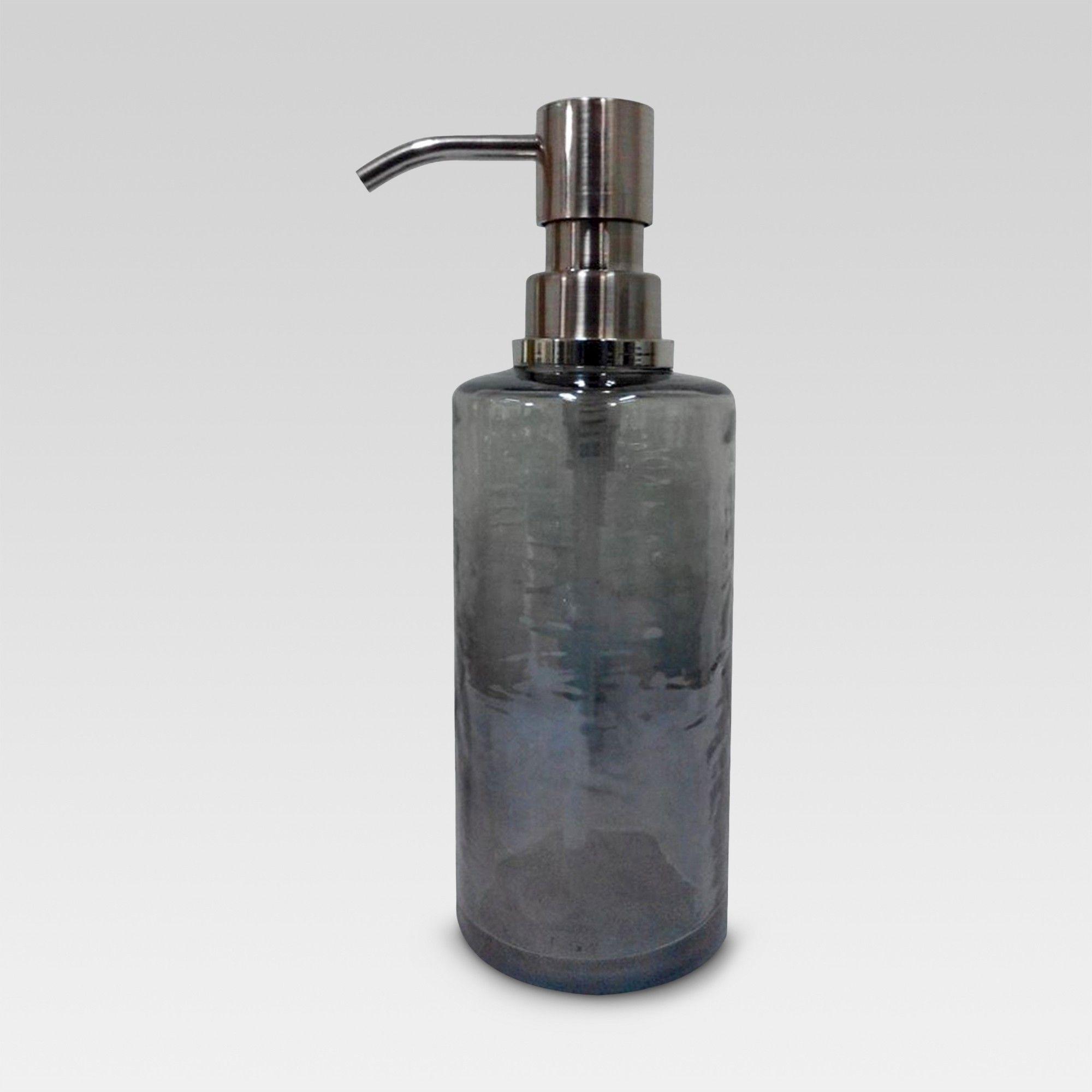 Soap Lotion Dispenser Gray Threshold Lotion Dispenser Glass