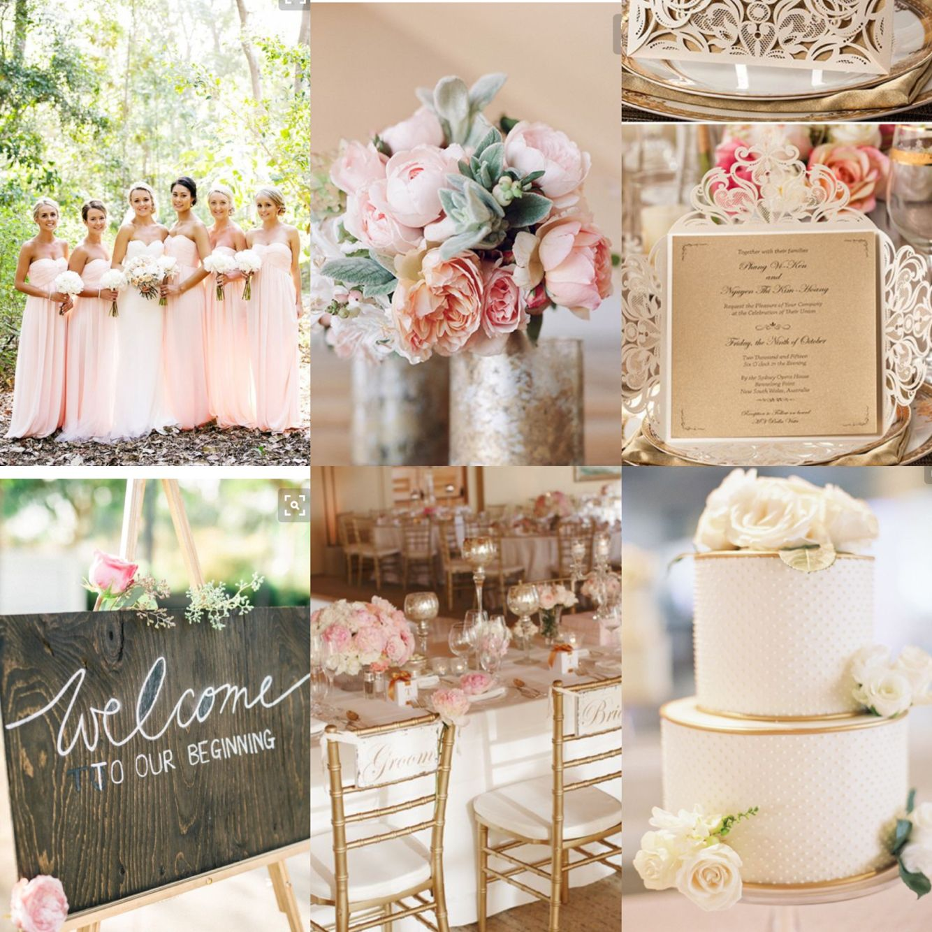 Wedding Vision Board