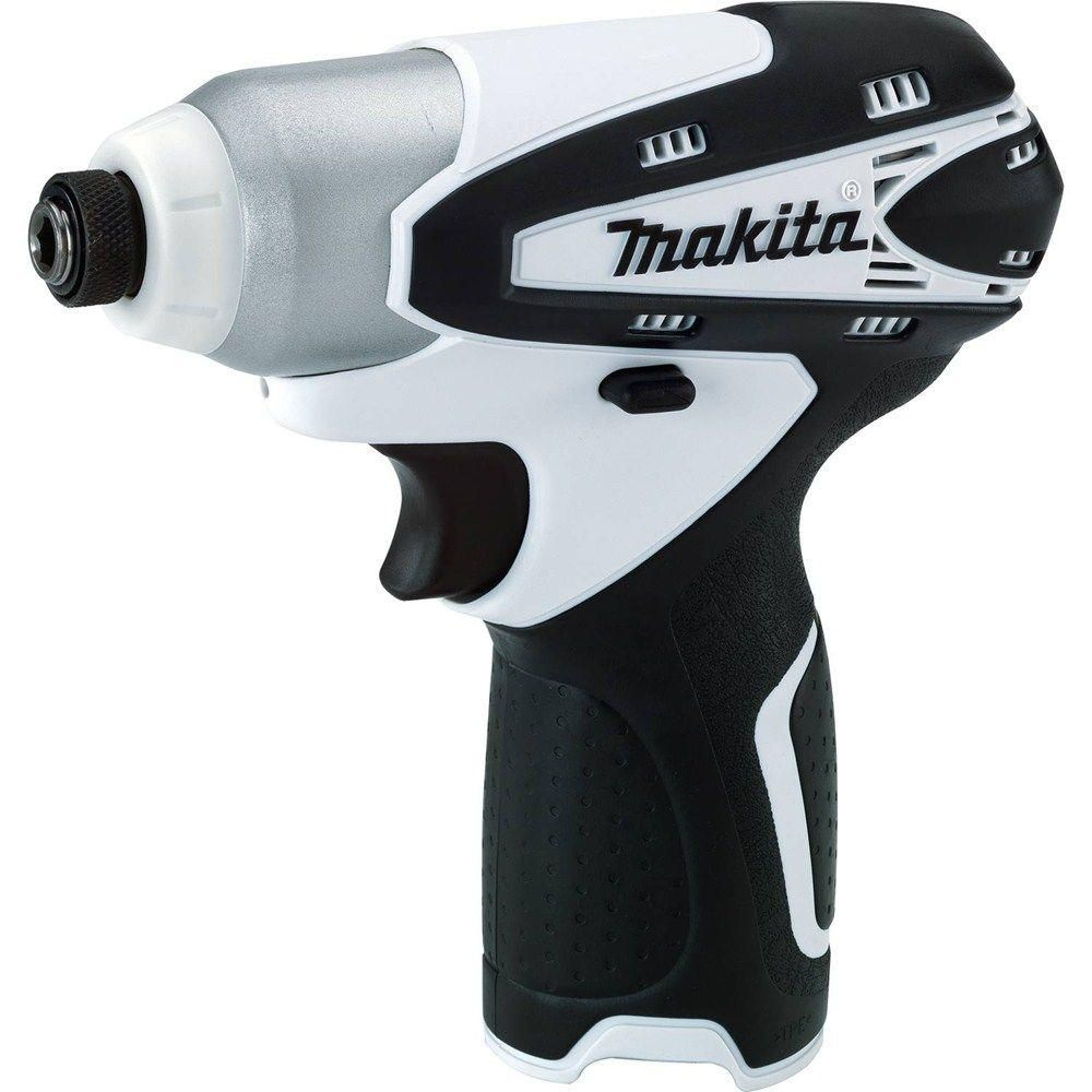 Makita 12 Volt Max Lithium Ion 1 4 In Cordless Impact Driver Tool Only Driver Tool Impact Driver Makita