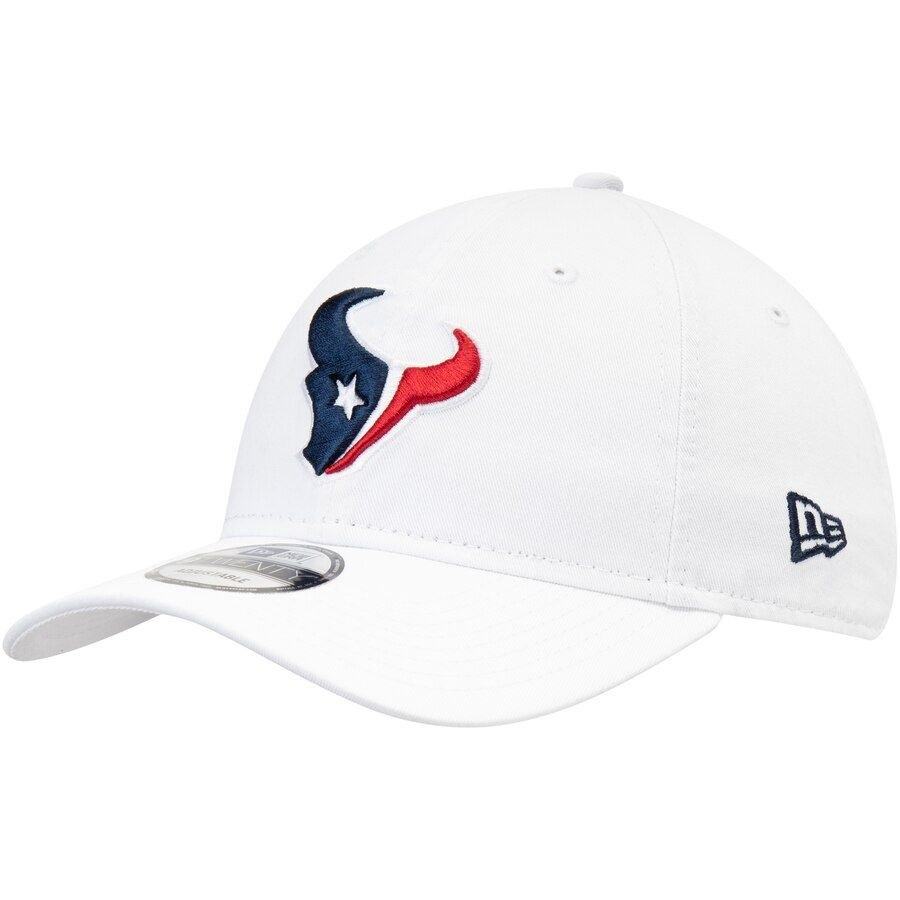 online retailer 3b8d1 0b87b Men s Houston Texans New Era White Core Classic White 9TWENTY Adjustable Hat,  Your Price