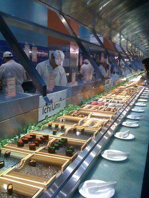 ichi umi the best sushi buffet in nyc 32nd street between madison rh pinterest com best breakfast buffet in nyc best buffet in nc