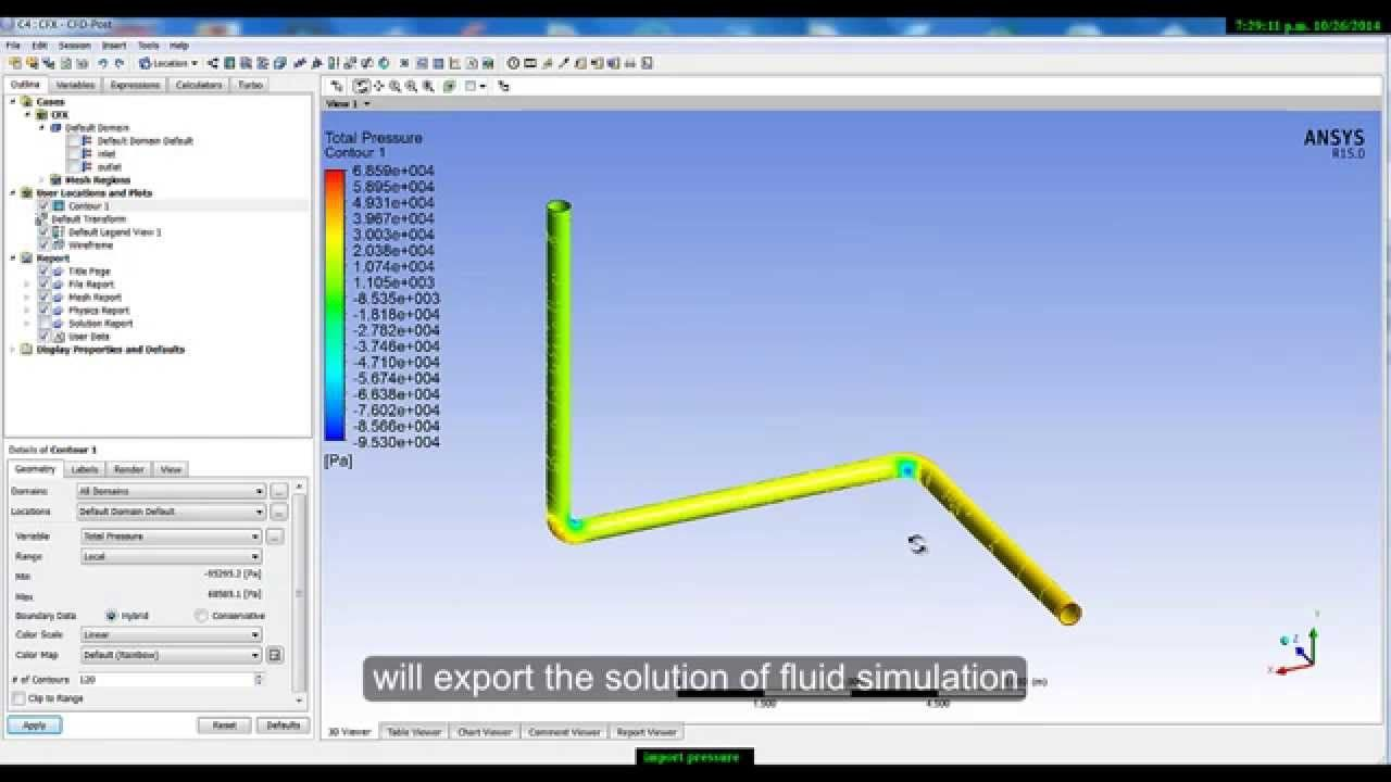 Ansys Workbench Fluid Flow Tutorial